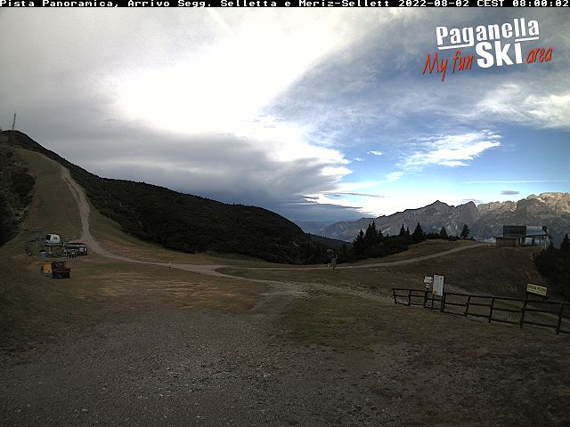 Webcam partenza selletta - cima paganella